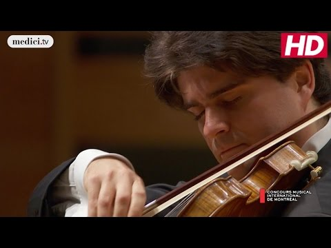 CMIM Final Round: Fedor Rudin - Violin concerto No. 1 in F-sharp minor - Wieniawski