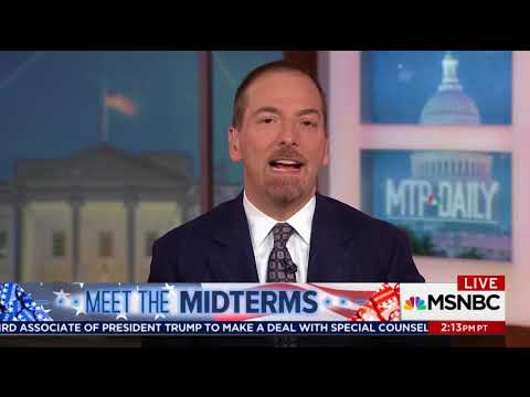 "NBC's Chuck Todd Highlights ""Intraparty Warfare"" After National Democrats Slam Dem Candidate"