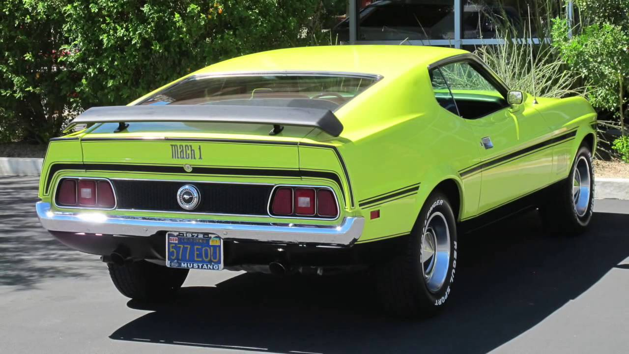 Canam imports 1972 ford mustang mach 1