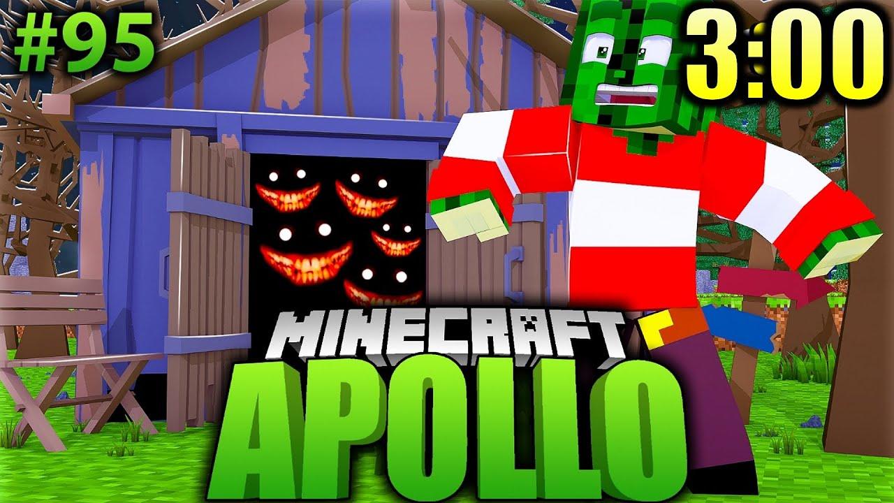 3:00 NACHTS im GRUSELBUNKER?! Minecraft Apollo #95 [Deutsch/HD]