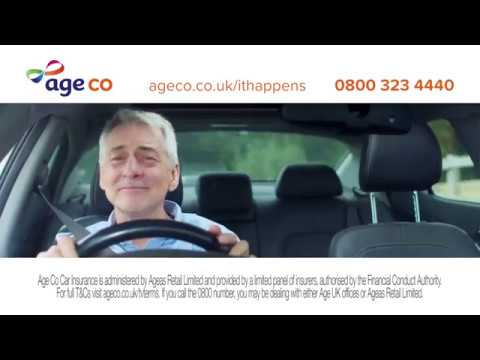 Age Co Car Insurance TV advert 'It happens'