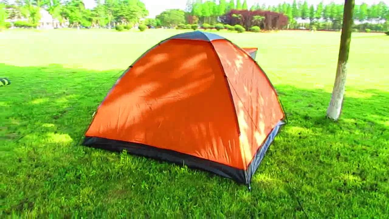 3 Man Iglu C&ing Tent Igloo Tent Dome Tent & 3 Man Iglu Camping Tent Igloo Tent Dome Tent - YouTube