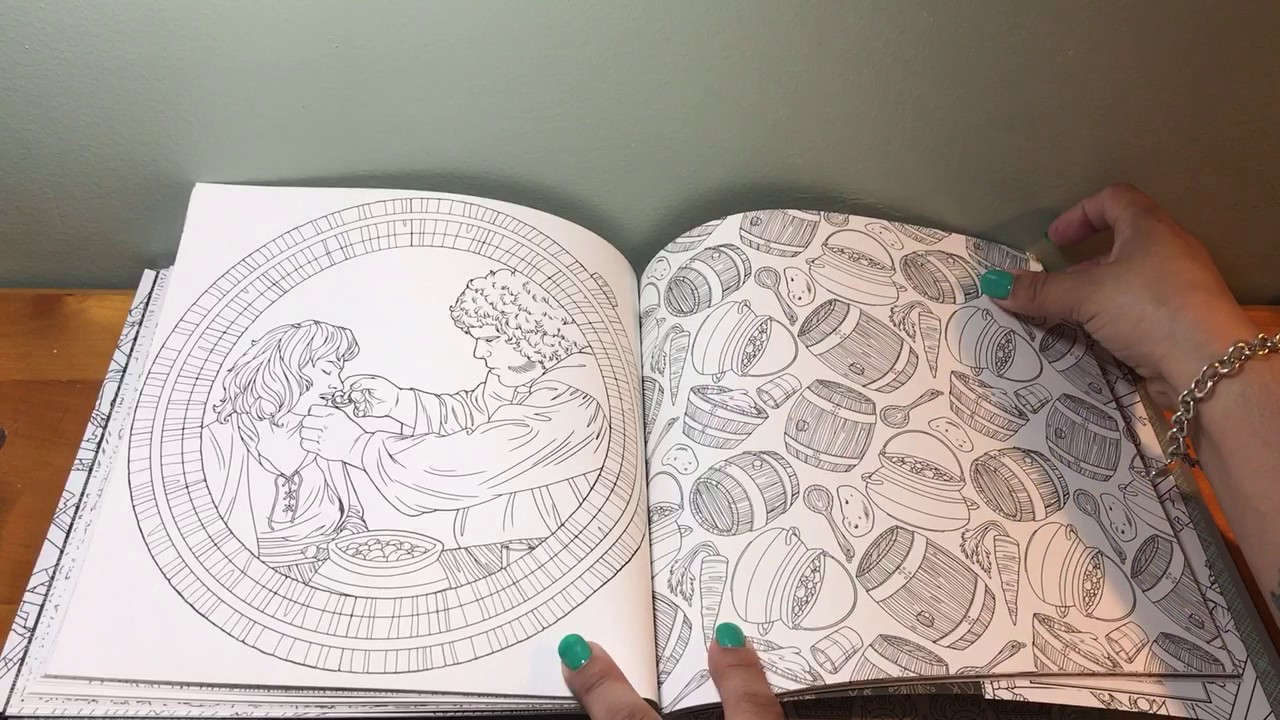 Coloring Book Review The Princess Bride 30th Anniversary Edition
