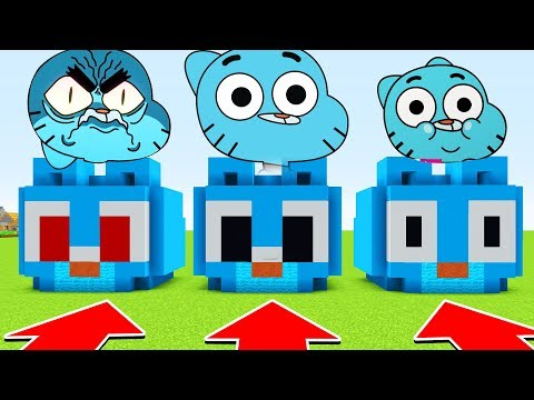 Minecraft : DO NOT CHOOSE THE WRONG GUMBALL (Ps3/Xbox360/PS4/XboxOne/PE/MCPE)