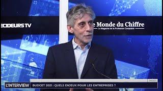 L'interview : Budget 2021, quels enjeux pour les entreprises confrontées à la crise ?