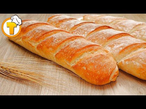 Французский Багет. Очень вкусный и простой домашний рецепт.