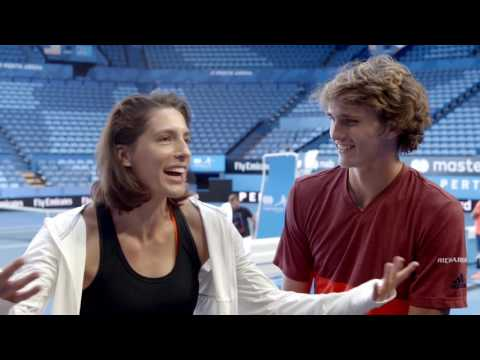 What's your team nickname? - Mastercard Hopman Cup 2017