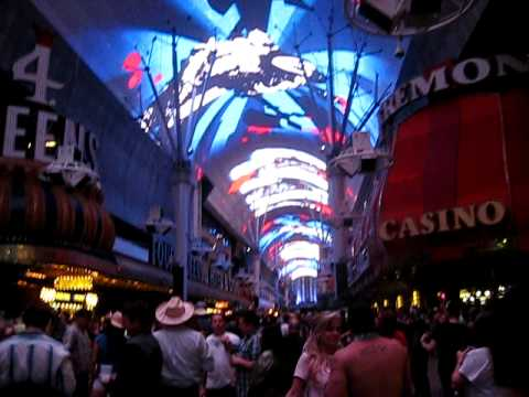 Downtown las vegas ceiling light show huge television like screen downtown las vegas ceiling light show huge television like screen aloadofball Gallery