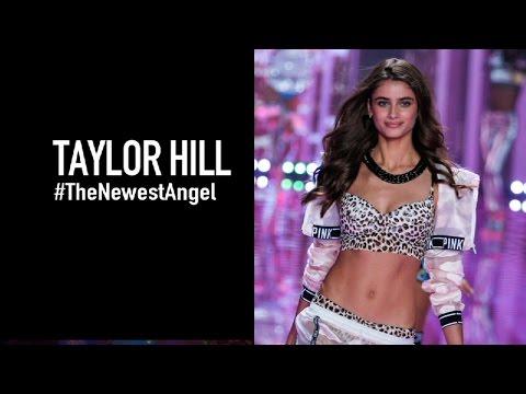 TAYLOR HILL Backstage - Meet Victorias Secret Newest Angel  MODTV