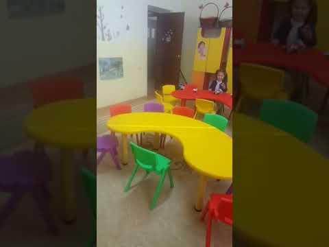Пластиковая мебель для детских садов