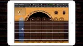 Hotel California видео урок в GarageBand на iOS #16