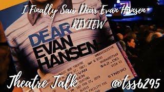 I Finally Saw Dear Evan Hansen - REVIEW | THEATRE TALK | Tss6295
