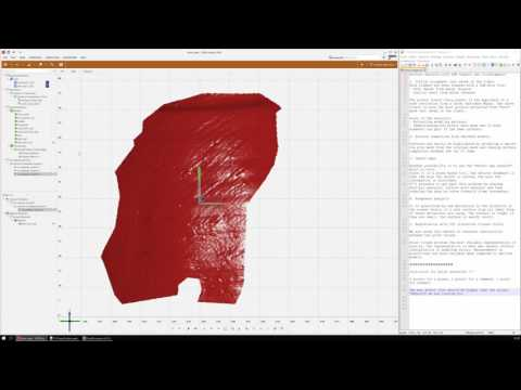 Step by step archaeological artefact surface analysis (GOM Inspect, CloudCompare, Meshlab)