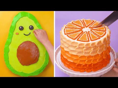 Everyone's Favorite Cake Recipe   Most Beautiful Cake Decorating Ideas   So Yummy Cake