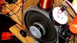 Overunity testing 3 amps in 6 amps out MVP MOTOR