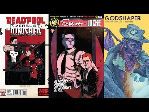 Comic Book Reviews from Pete's Basement Season 10, Episode 14 - 4.20.17
