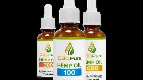 CBDPure Oil Review