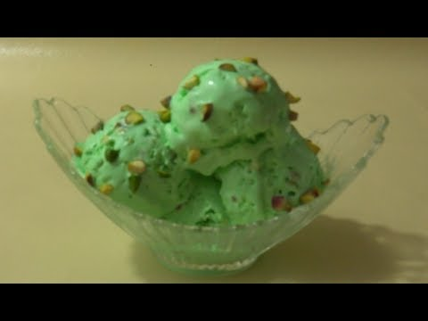 Pistachios Ice cream Recipe  آسان آسکریم پسته