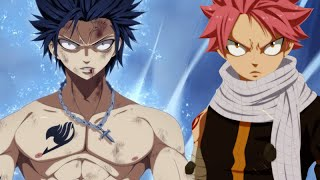 Fairy Tail - Natsu END vs Gray Devil Slayer Final Fight