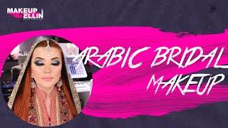 Arabic bridal makeup 💋 Индивидуальный урок с ученицей. Выпуск 30