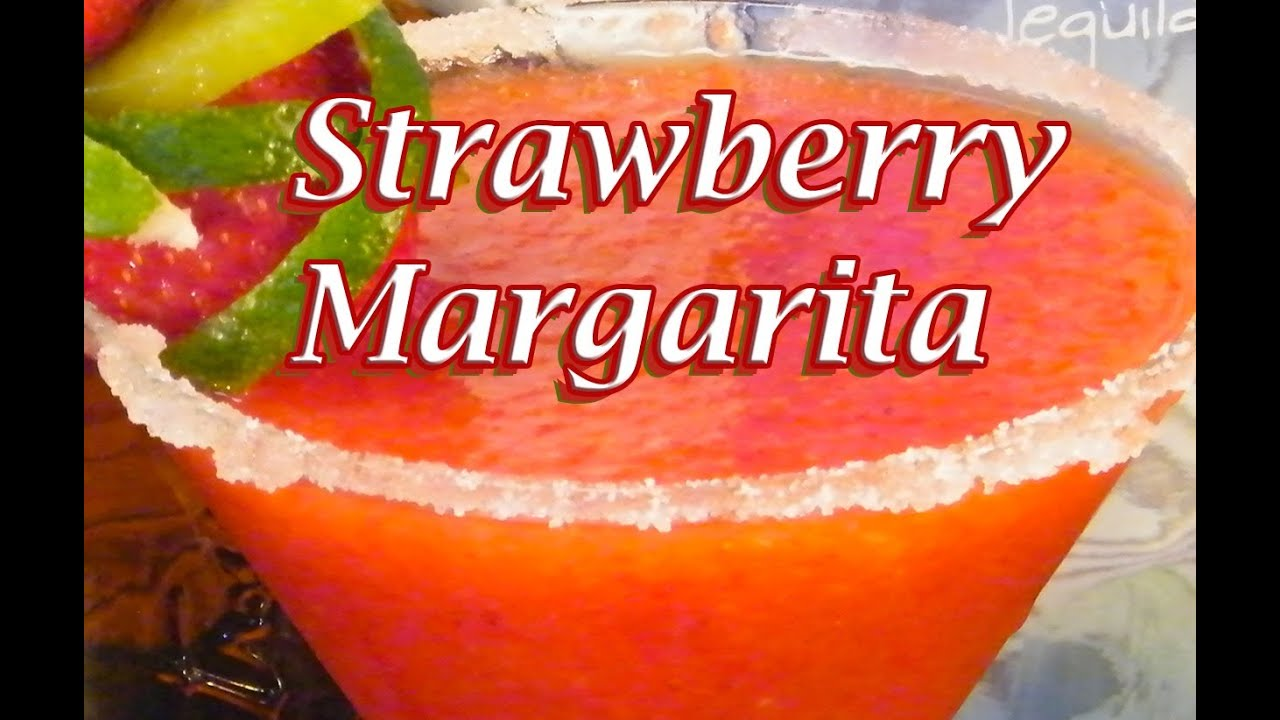 Fresh Strawberry Margarita Recipe - Margarita Recipes - TheFNDC.com ...