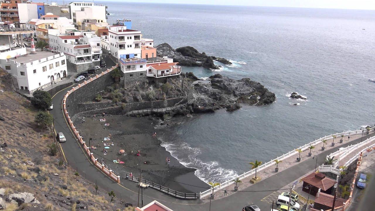 Playa de santiago puerto santiago tenerife 4k youtube - Puerto santiago tenerife mapa ...