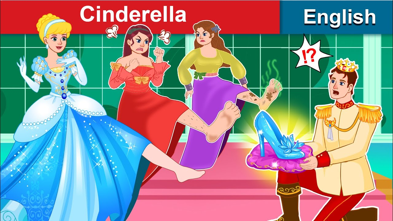 Cinderella 👠 Story in English 👸 Bedtime stories | Stories For Teenagers | WOA Fairy Tales