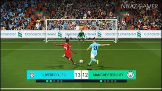 LIVERPOOL FC vs MANCHESTER CITY | Penalty Shootout | PES 2018 Gameplay PC