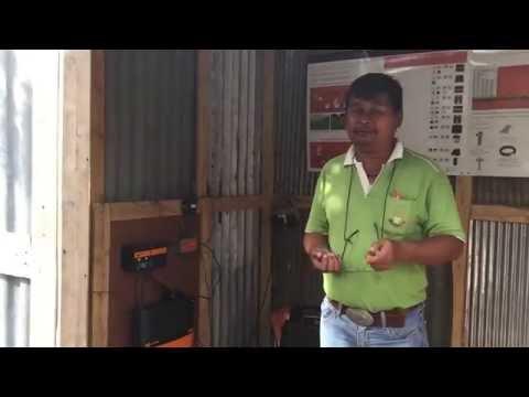 สาธิตการใช้รั้วไฟฟ้า ที่พฤกษะศรีฟาร์ม  1