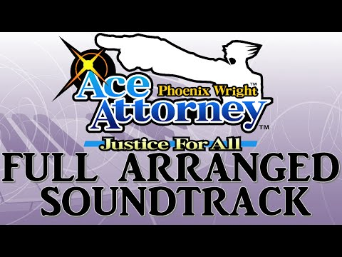 Ace Attorney: Justice For All - Full soundtrack (ost) Remake/Arranged [Nintendo DS]