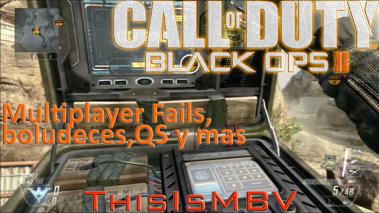Call of Duty: Black Ops 2 | Multiplayer Fails, Boludeces y ...