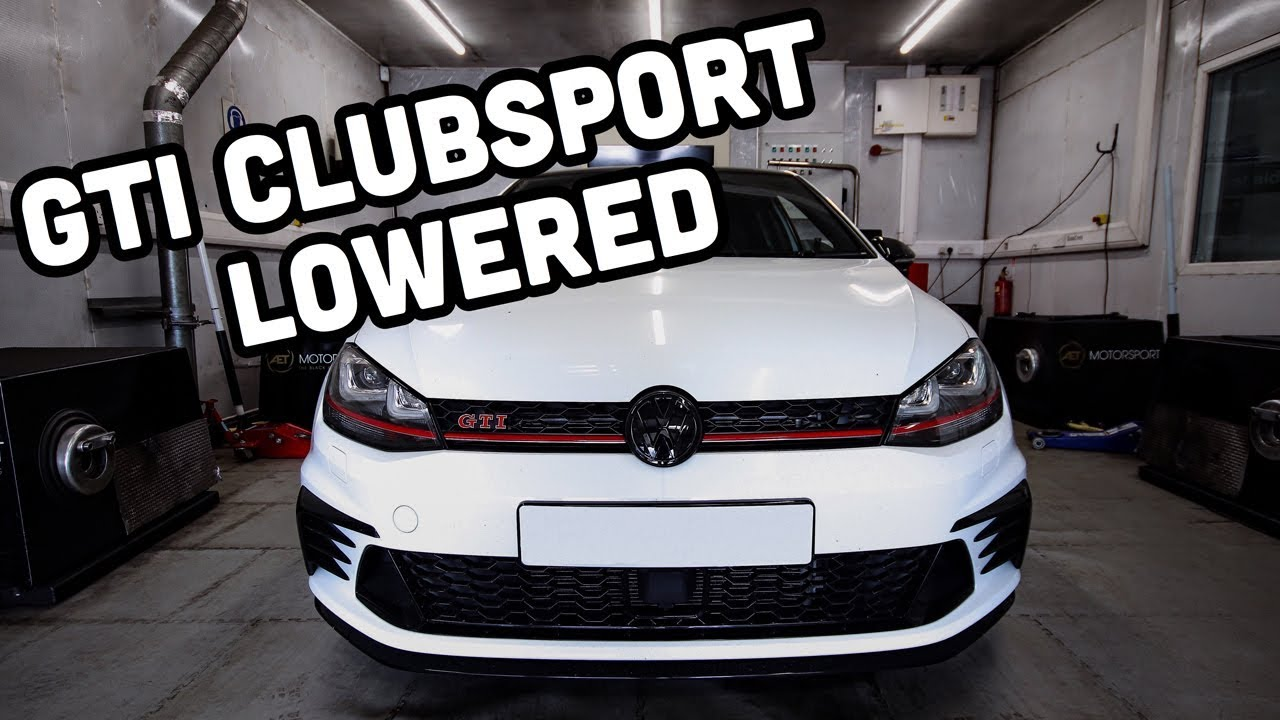 Lowered Golf GTI Clubsport - YouTube  Lowered Golf GT...