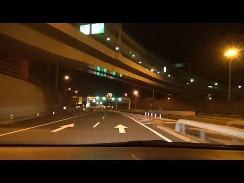 【HD】 深夜のアクアラインドライブ 「Late-night Tokyo Bay Aqua-Line Expwy drive」