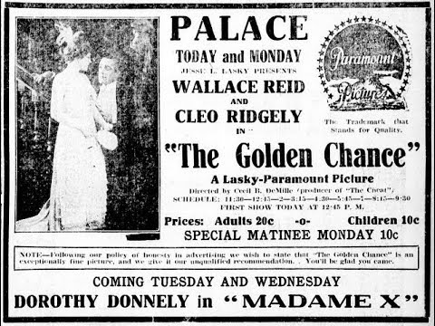 (1915 USA) The golden chance