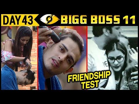 Hina SHAVES Priyank's Head | Vikas–Shilpa BEST FRIENDS | Bigg Boss 11 Day 43 | 13th Nov 2017 Update