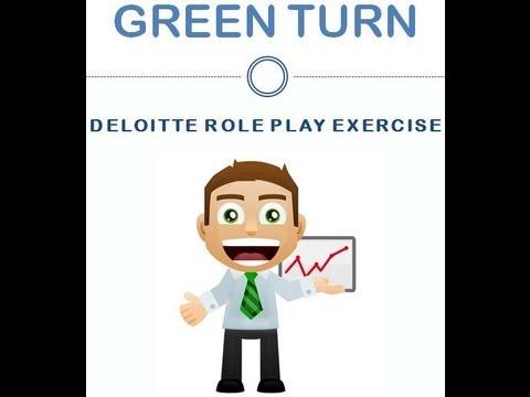 Deloitte Presentation Role Play Exercise