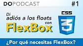 Di adiós a los floats con FlexBox