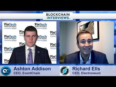 Blockchain Interviews - Richard Ells, CEO of Electroneum