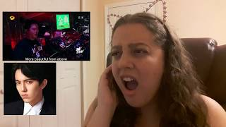 DIMASH SOS REACTION ( first time )