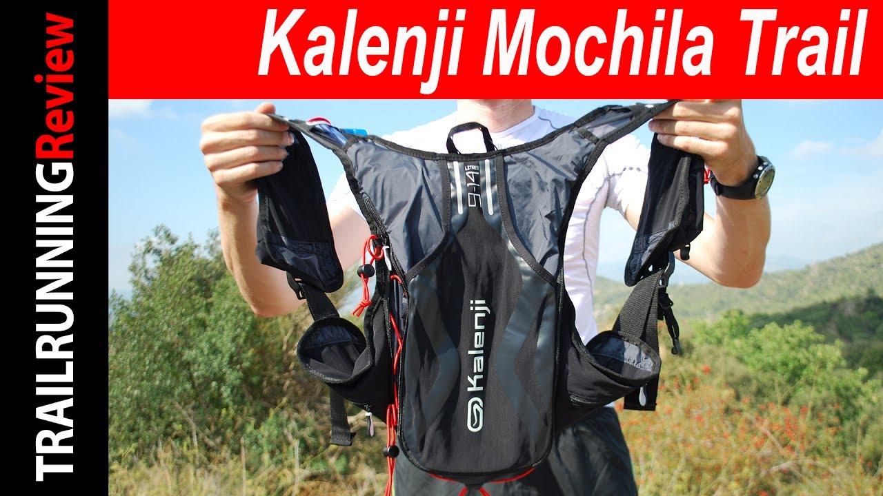 9acc86875 Kalenji Mochila Trail Review - YouTube