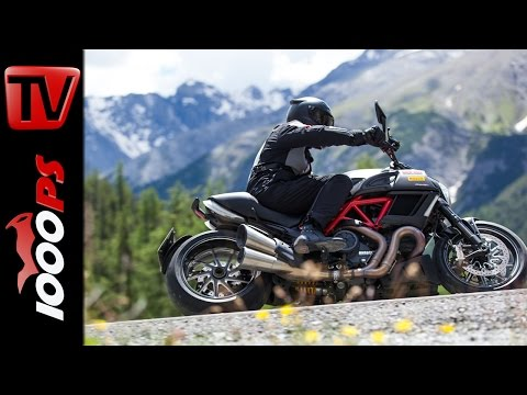 Ducati Diavel 2014 - Test in den Alpen