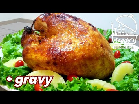 pavo-adobado-con-piña-y-chipotle│-marinated-turkey-pineapple&chipotle│sandy's-international-recipes