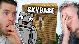 ALPHASTEINS Parodie auf STANDART SKILLS Skybase Song REACT... (Kill.me Pls)