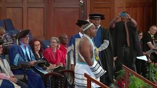 A viral video of a UCT Humanities Graduate Chumani Maxwele aka Zanzolo - Land Expropriation