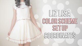 Liz Lisa Lace color scheme set up coordinates [Emiiichan]