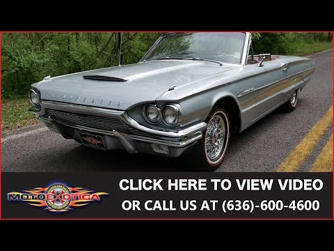1964 Ford Thunderbird Convertible || For Sale