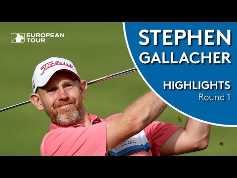 Stephen Gallacher makes amazing albatross | Round 1 Highlights | 2019 Trophee Hassan II