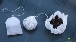 Правда о чайных пакетиках. The truth about the tea bags.