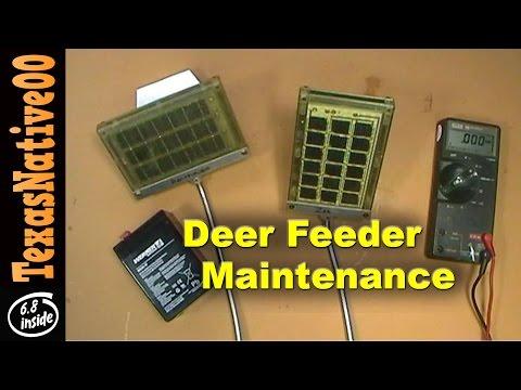 deer game feeder complete assembly and review youtube rh youtube com Deer Trough Feeders Texas Deer Feeders