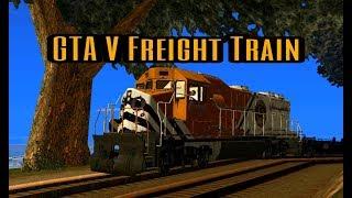 GTA San Andreas Android - Train Mod (GTA 5 Freight Train)